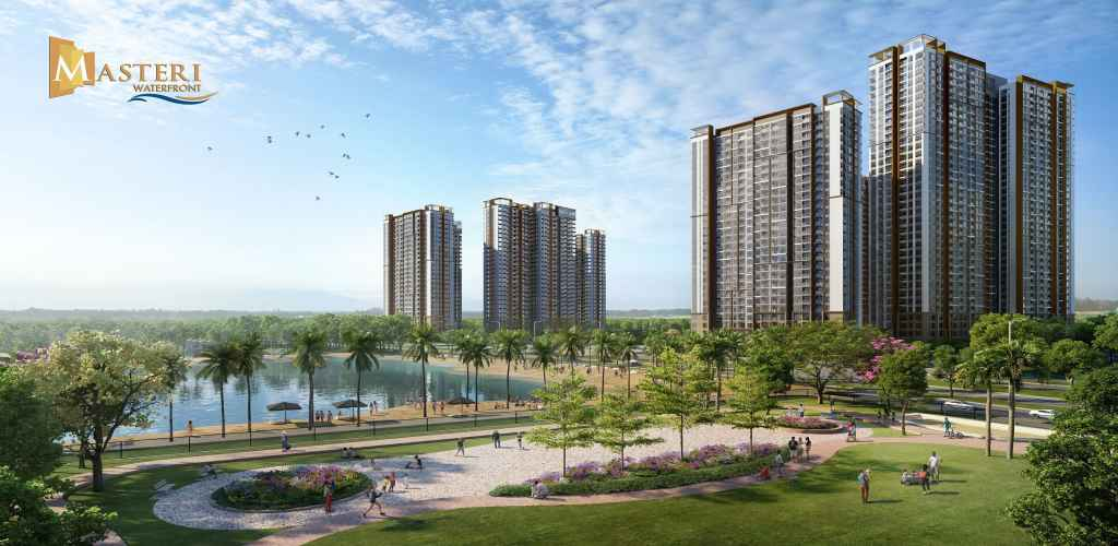 Tiến độ dự án Masteri Waterfront Ocean Park cập nhật 2021