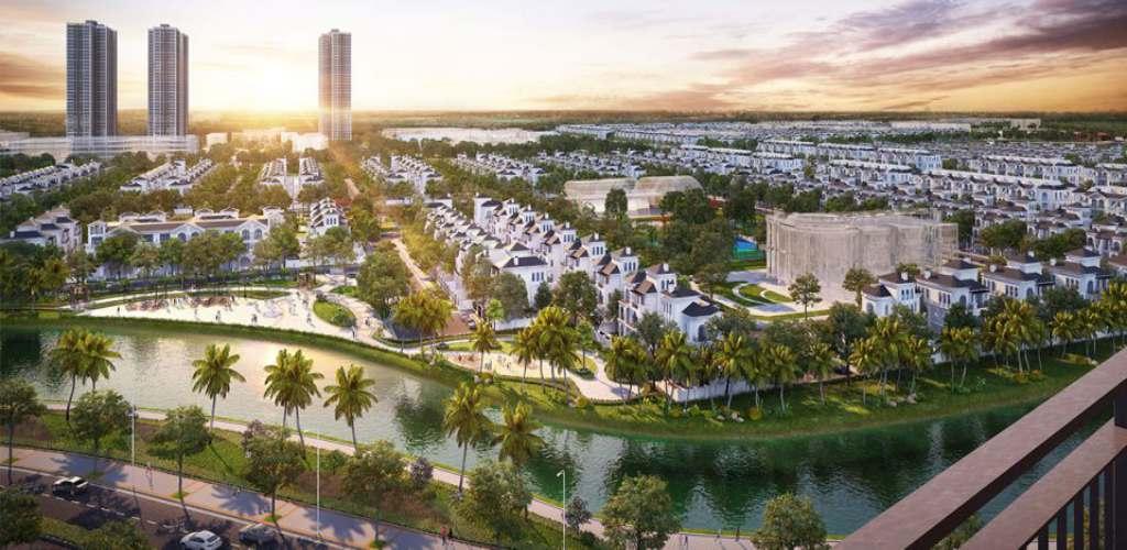 Tiến độ dự án Vinhomes Wonder Park Đan Phượng năm 2021