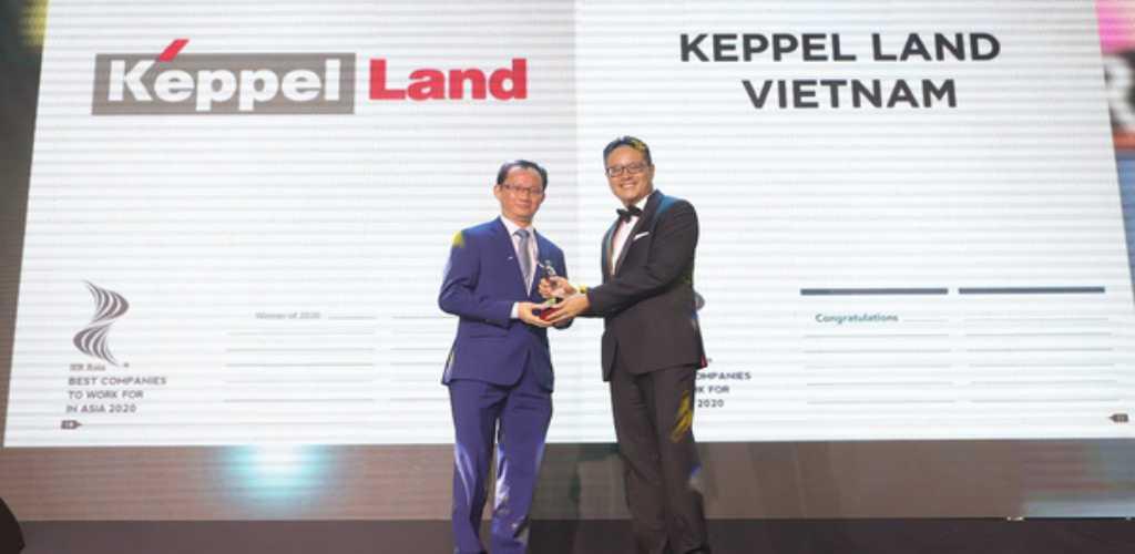 Keppel Land được công nhận là công ty có môi trường làm việc tốt nhất Châu Á?