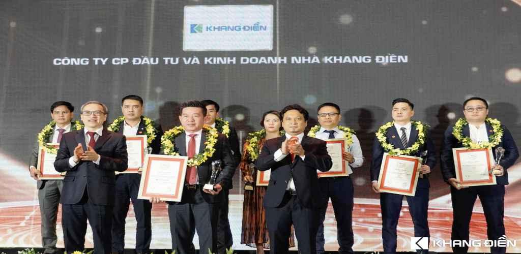 khang dien nhan giai thuong top 10 chu dau tu uy tin bat dong san 2021