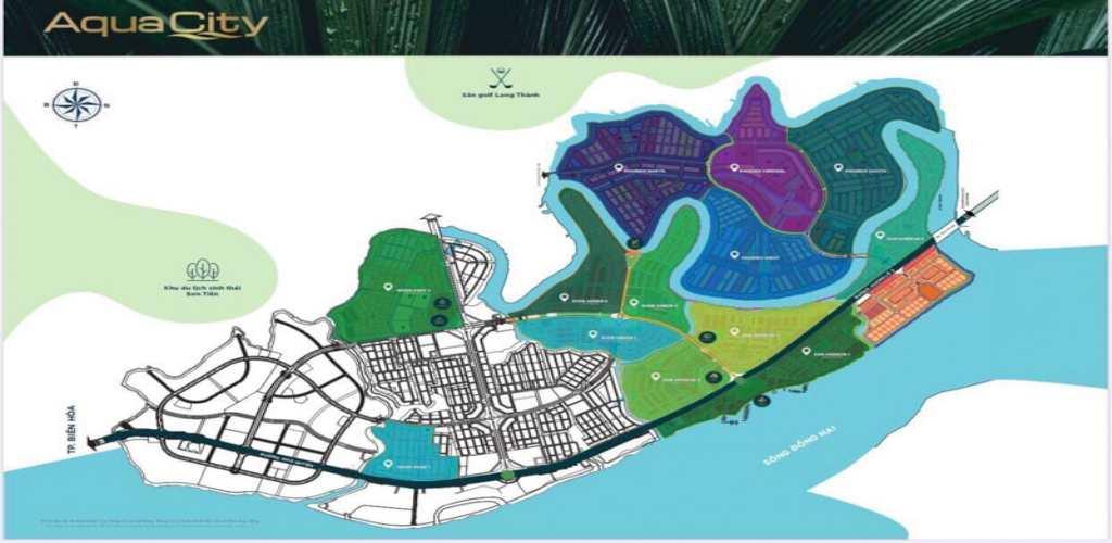mat bang tong the aqua city