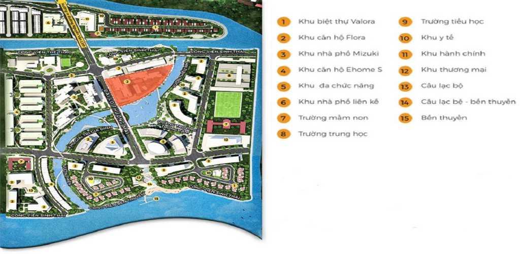 mat bang tong the mizuki park