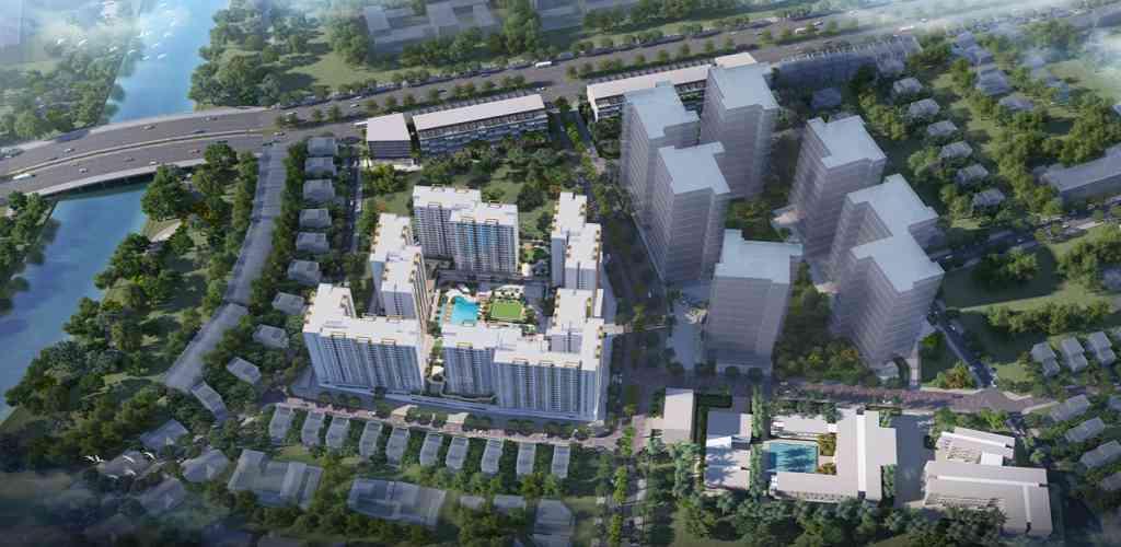 Nhà mẫu dự án Akari City ở đâu?