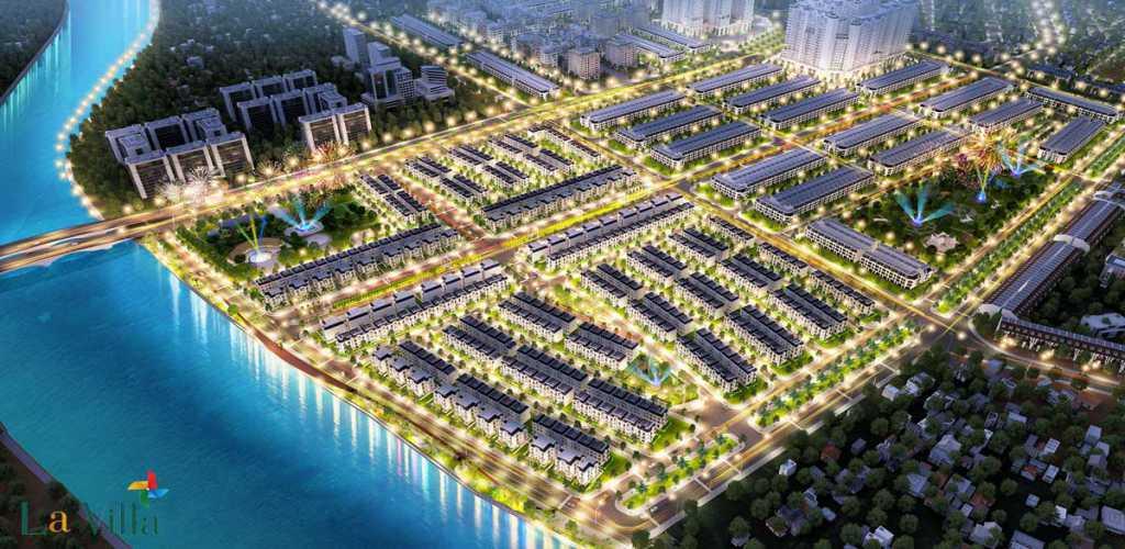 phoi canh du an la villa green city
