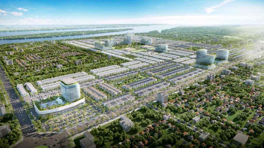 Nhà mẫu dự án Stella Mega City ở đâu?