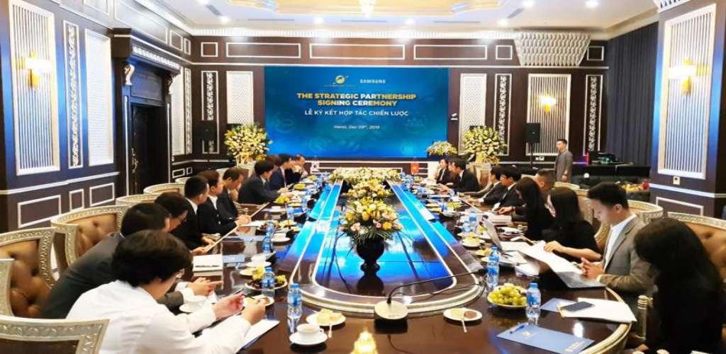 Sunshine Group và Samsung bắt tay phát triển công nghệ bất động sản?