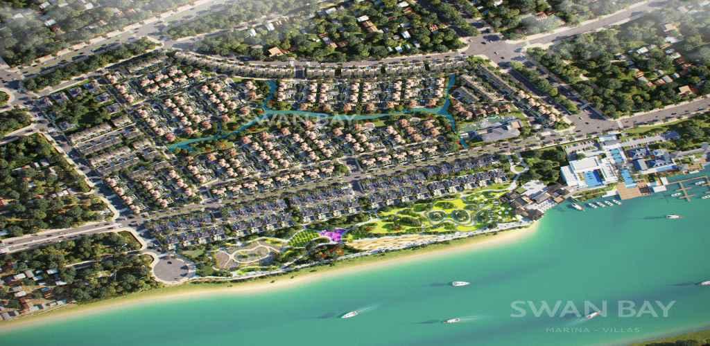 swanbay marina villas