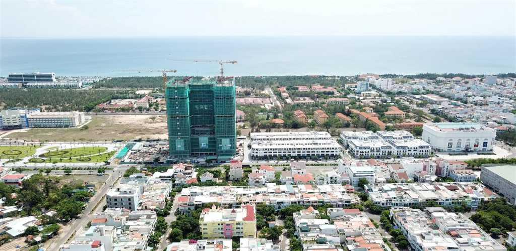 Tiến độ xây dựng Apec Mandala Grand Phú Yên 2021