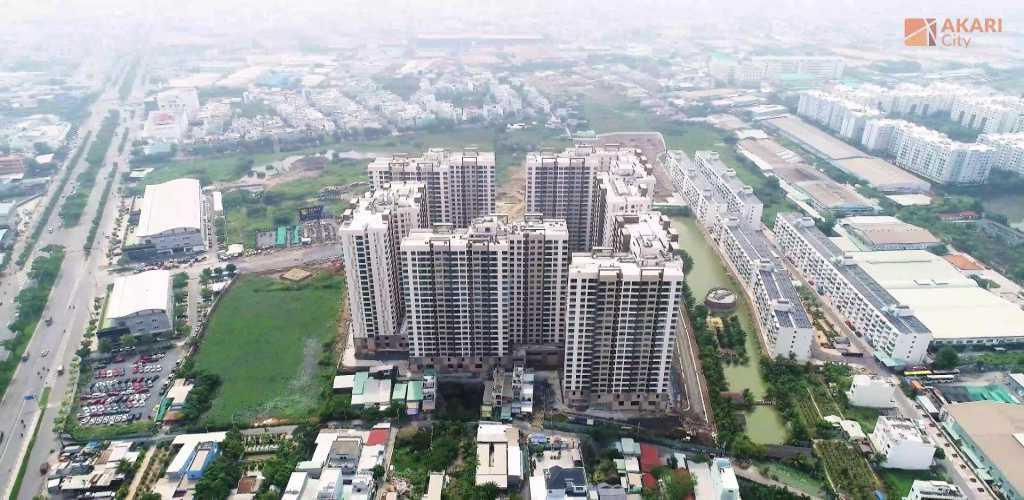 Tiến độ dự án Akari City cập nhật năm 2021