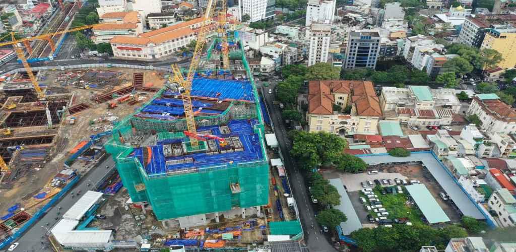 Tiến độ dự án One Central HCM cập nhật năm 2021