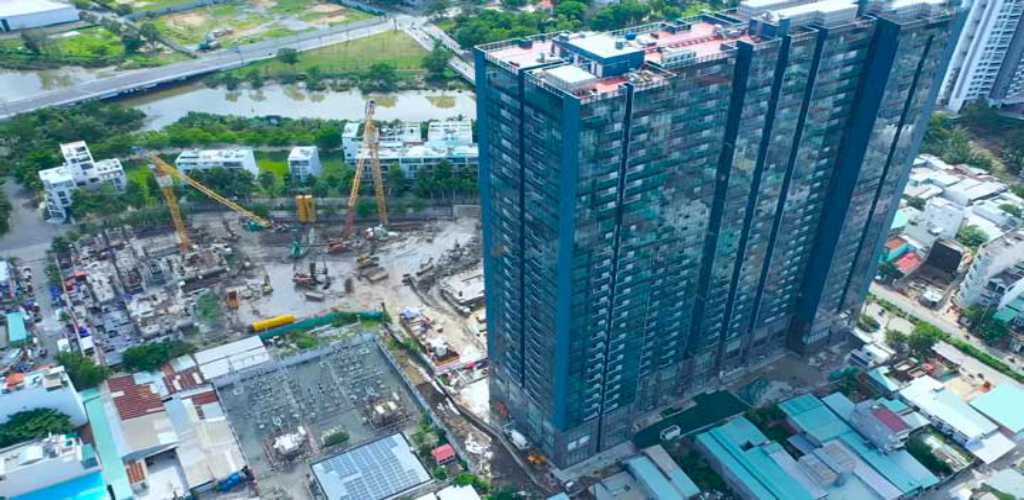 Tiến độ thi công dự án Sunshine City Saigon năm 2021