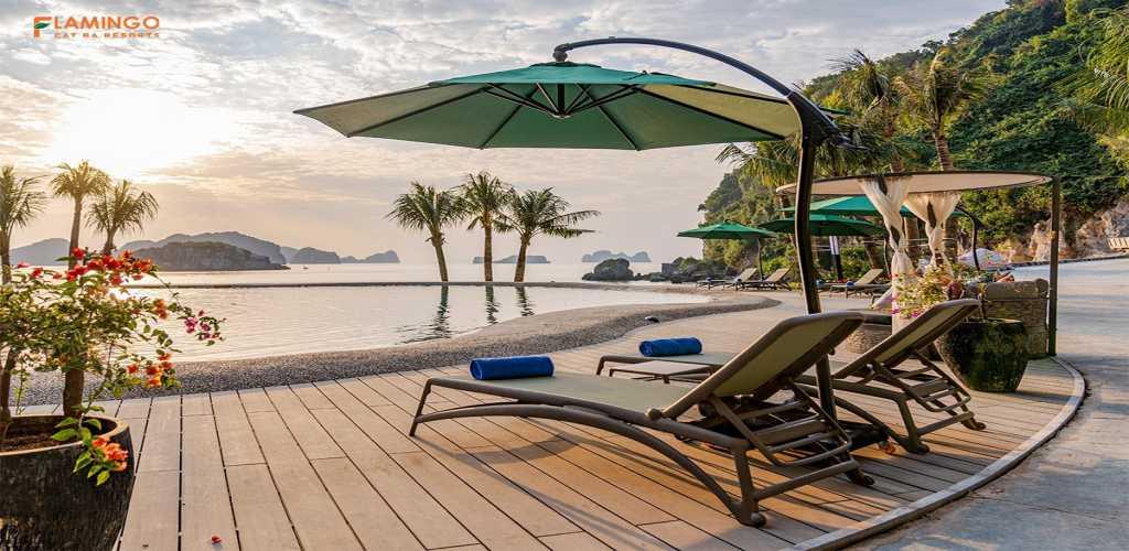 tien ich du an flamingo cat ba beach resort