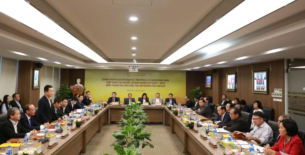 T&T Group là thương hiệu tạo cú hích hợp tác kinh tế quốc tế