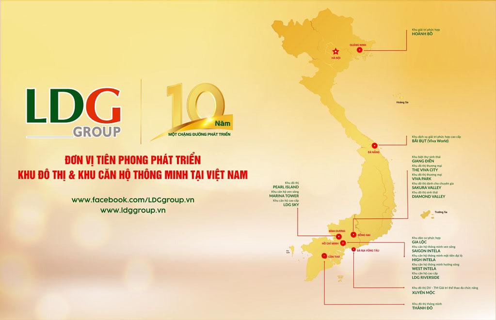 Long Điền Group đang có những dự án nào? Quỹ đất phát triển ra sao?