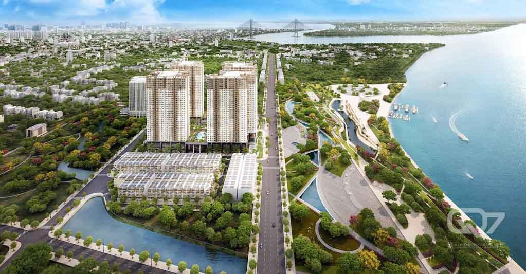du an q7 saigon riverside complex