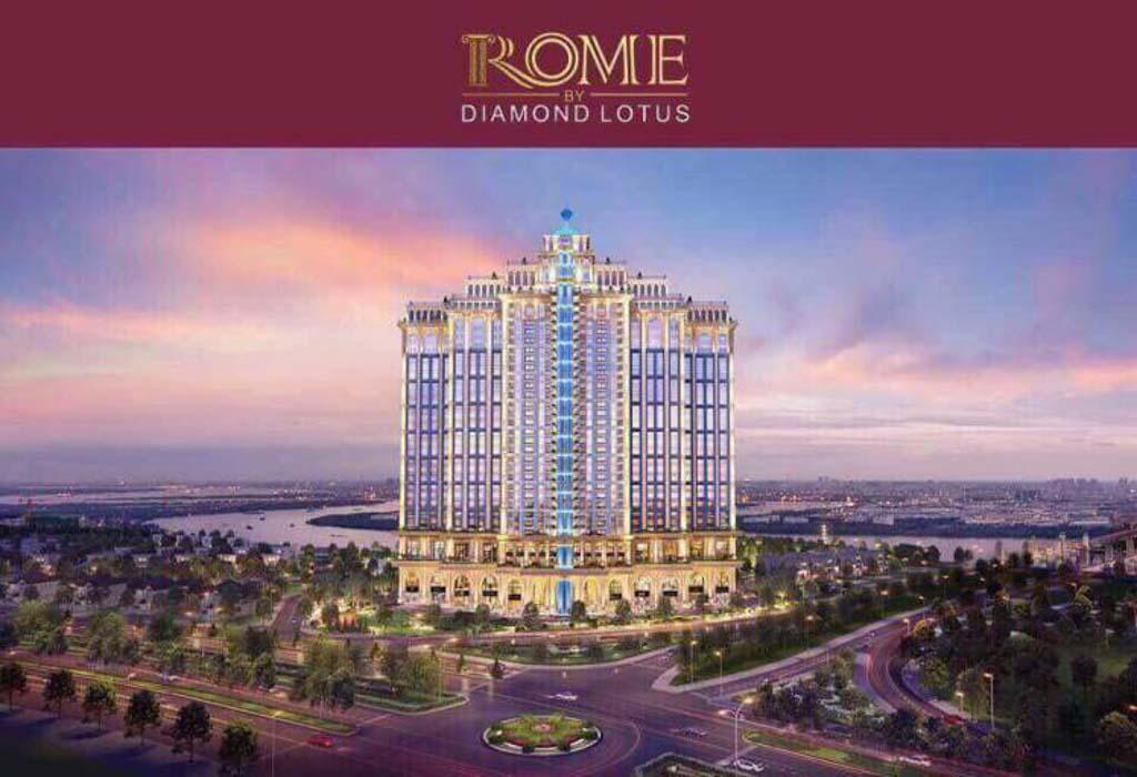 Có nên đầu tư dự án Rome Diamond Lotus không?