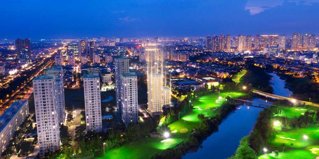 phoi canh du an happy valley premier view san golf
