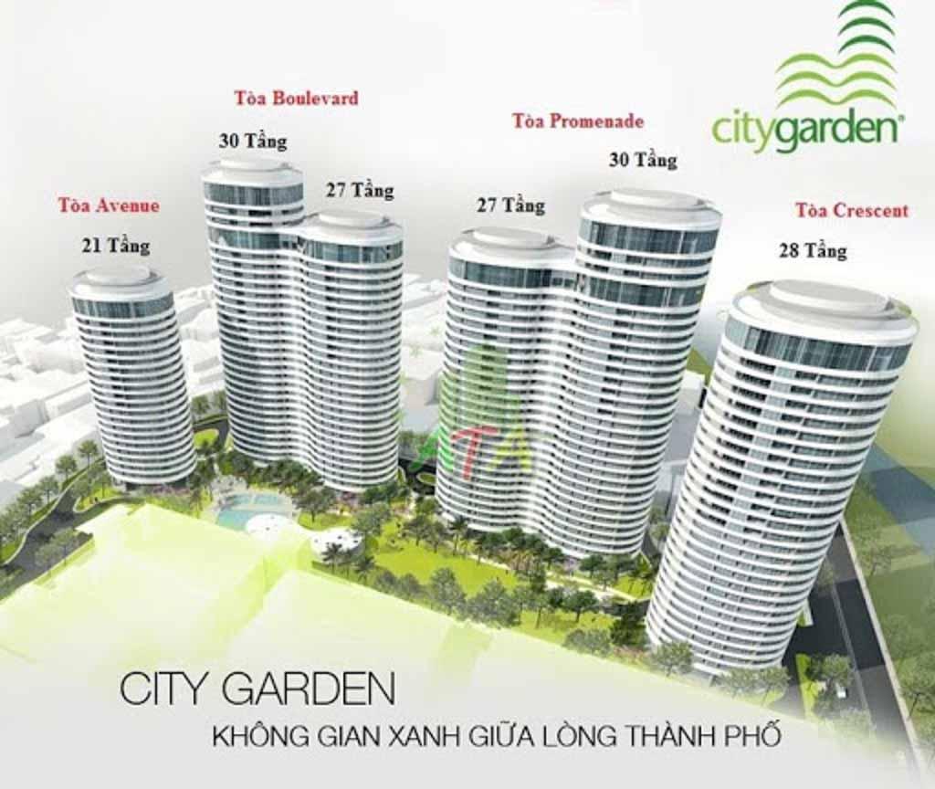 mat bang tong the city garden binh thanh