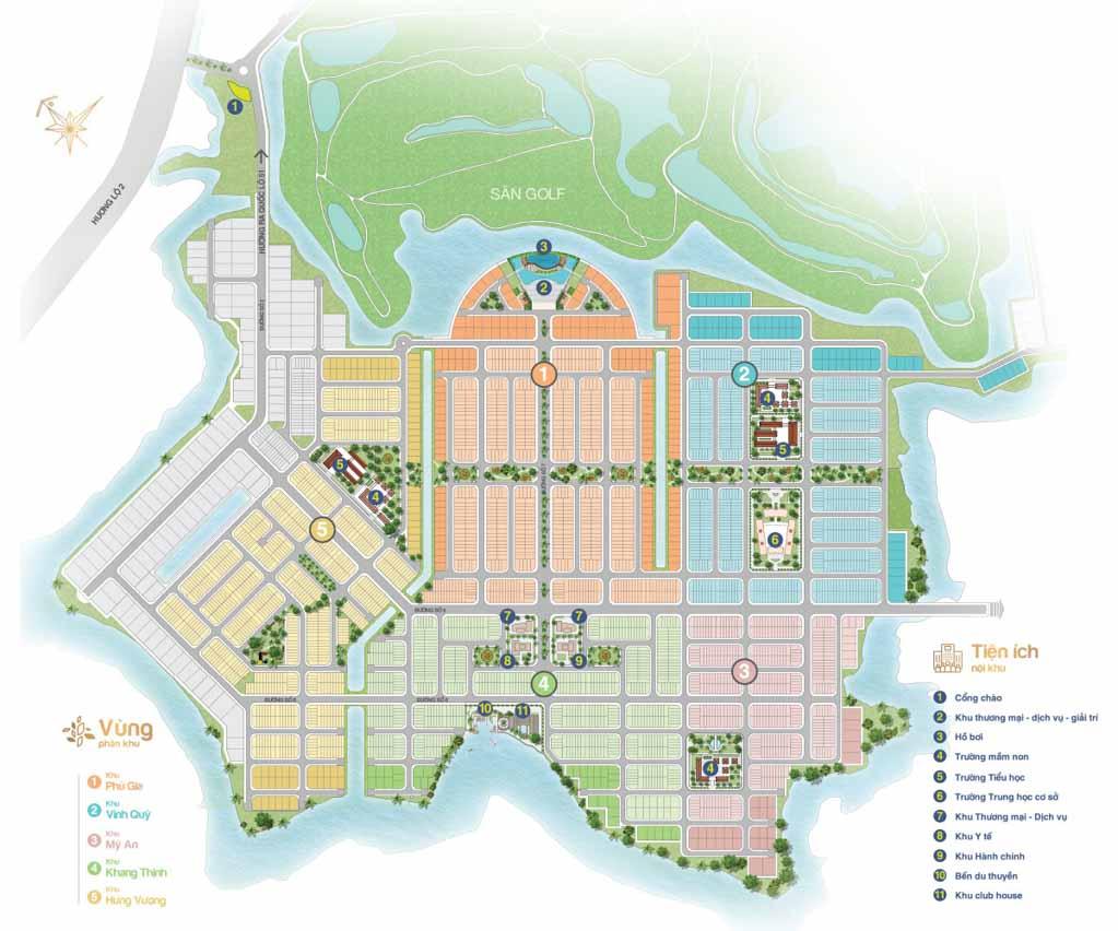 mat bang tong the du an bien hoa new city