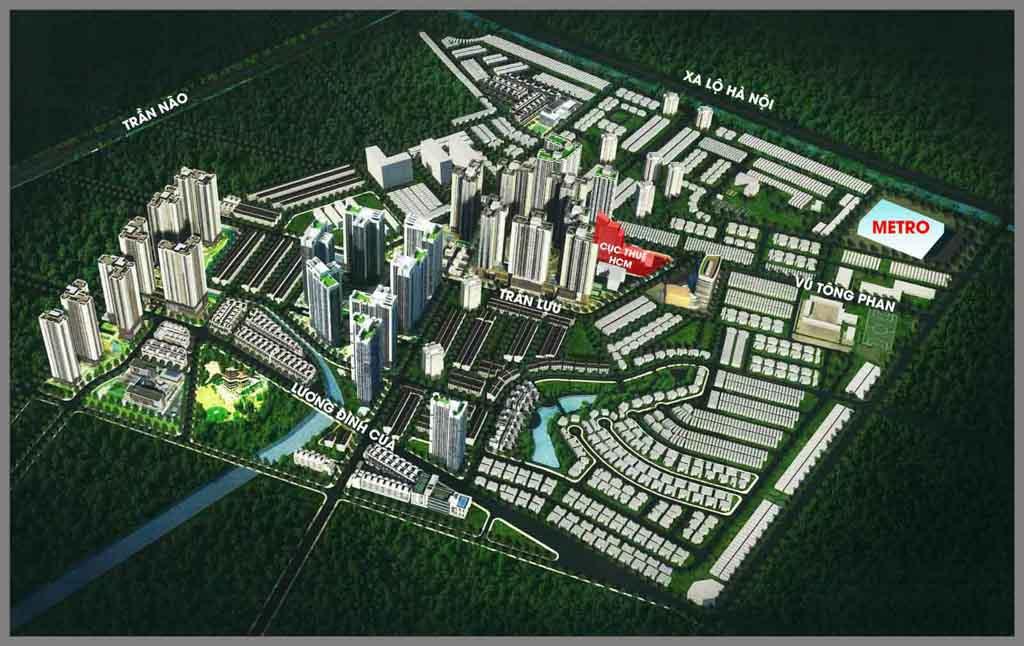 mat bang tong the laimian city