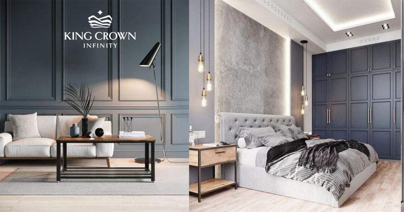 Nhà mẫu dự án King Crown Infinity ở đâu?