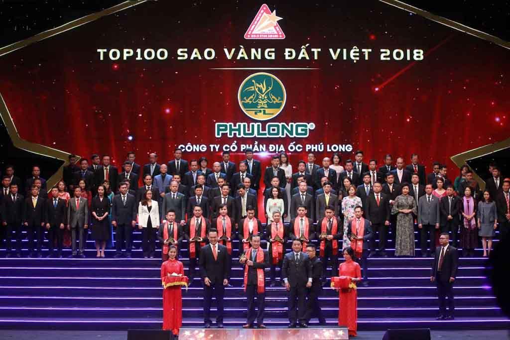 Phú Long được trao giải thưởng doanh nghiệp tiêu biểu năm 2020