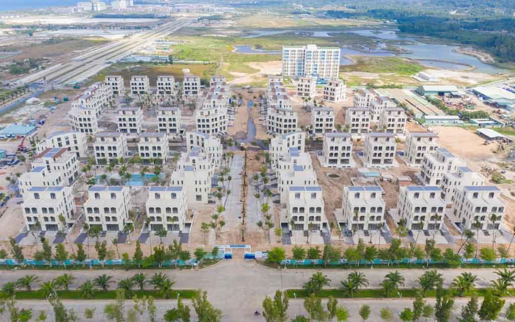 Tiến độ Palm Garden Shop Villas Phú Quốc đã đến đâu?