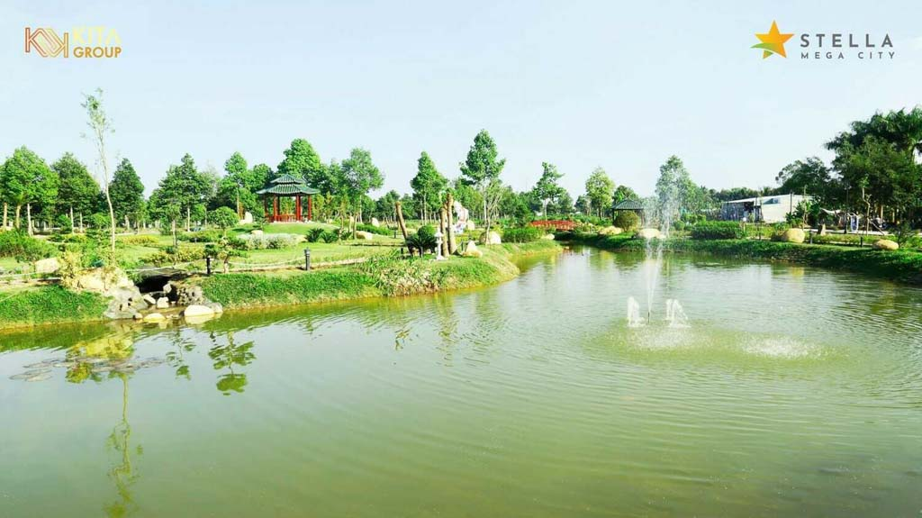 ho sinh thai tai du an stella mega city