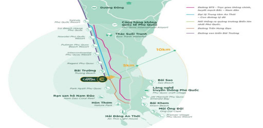 Vị trí dự án Meyhomes Capital Phú Quốc ở đâu?
