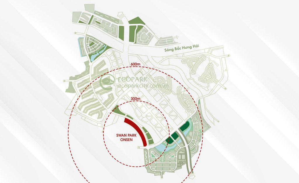 Vị trí SwanLake Onsen Ecopark ở đâu?