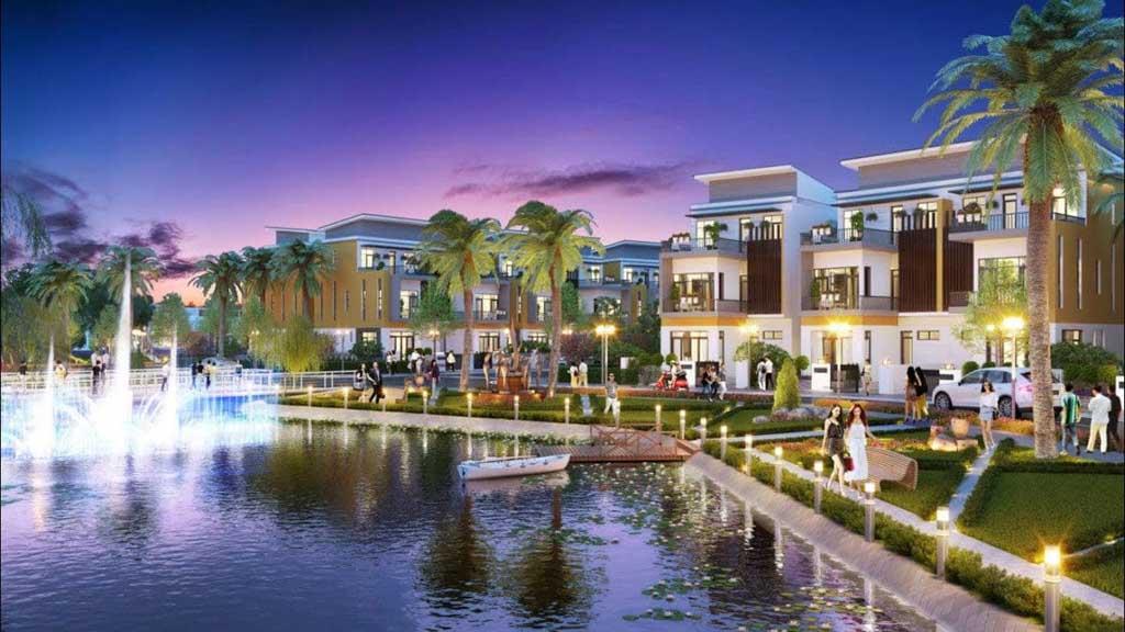 biet thu la villa green city
