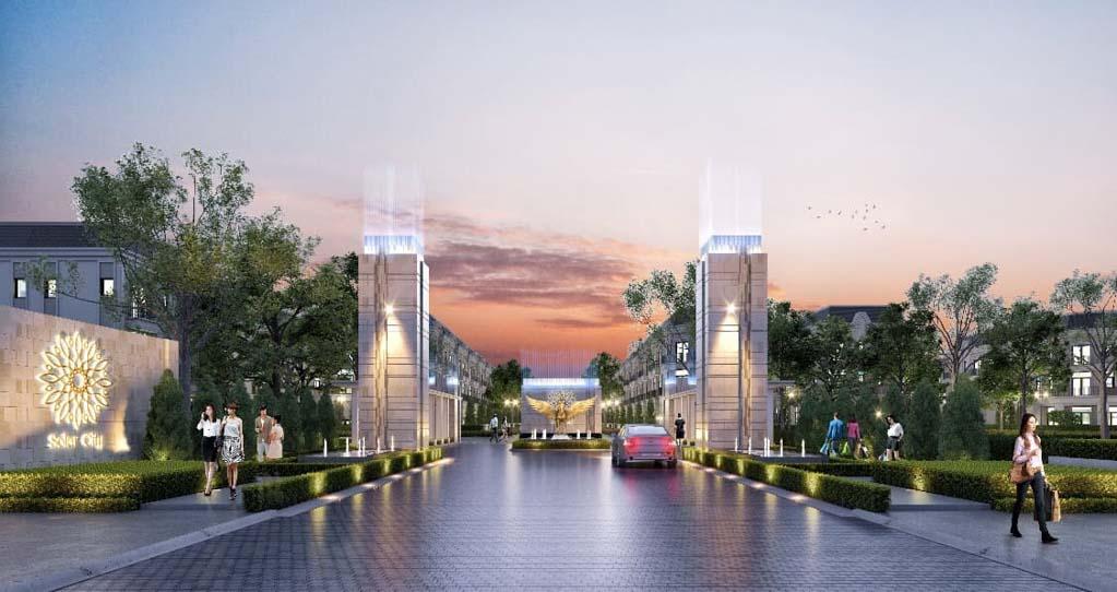 cong chao solar city ben luc