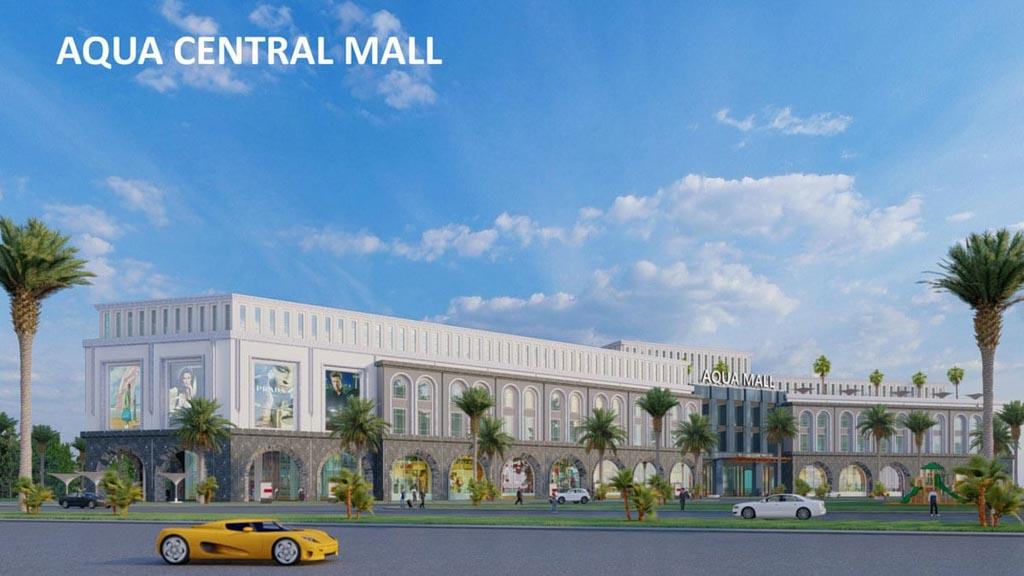 trung tam thuong mai aqua central mall