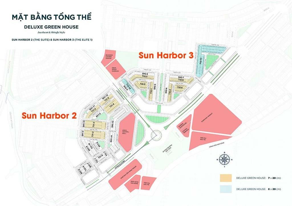 mat bang tong the aqua city sun harbor 1