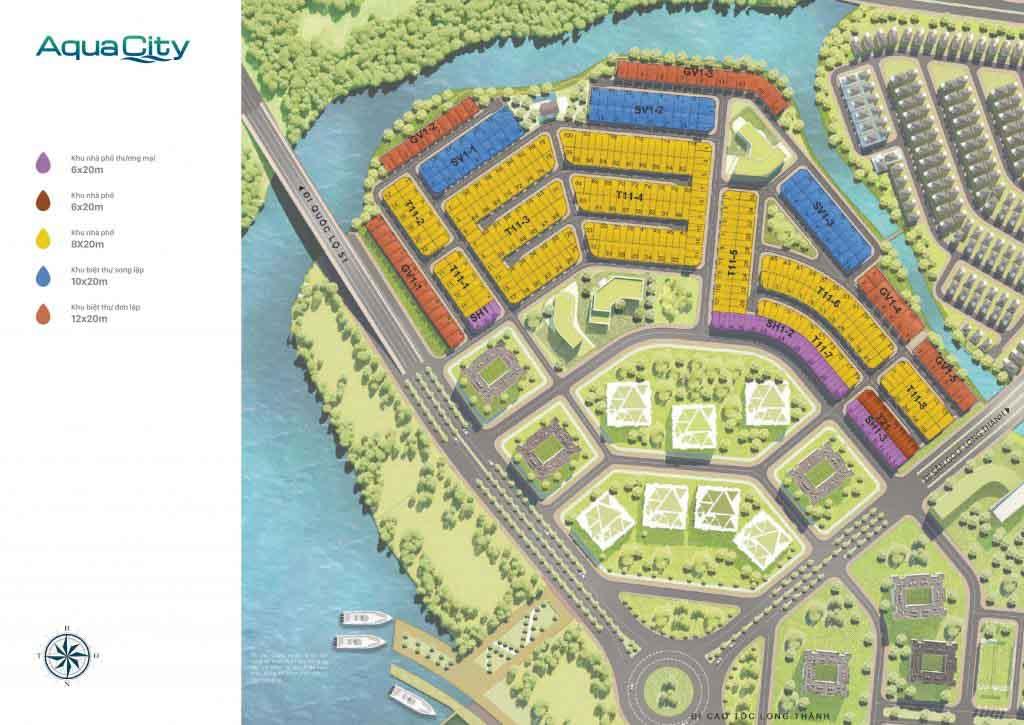 mat bang the suite aqua city