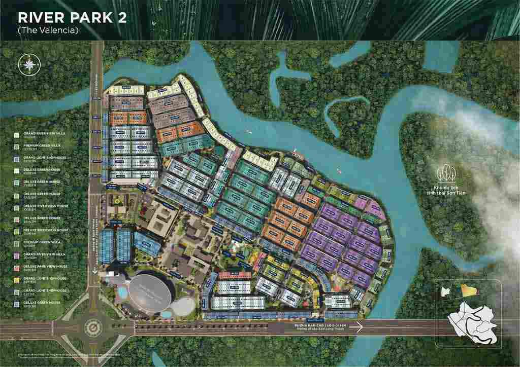 mat bang the valencia aqua city