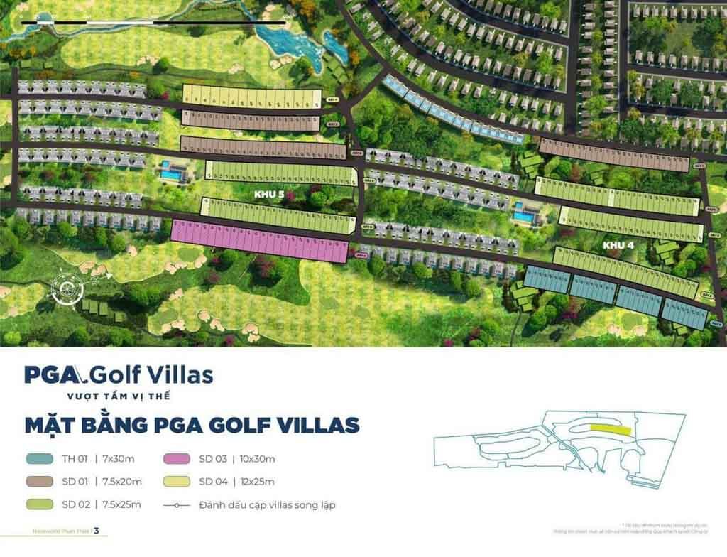 mat bang tong the pga golf villas