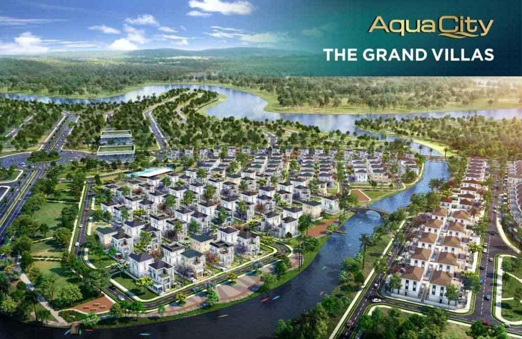 Giá bán The Grand Villas Aqua City bao nhiêu?