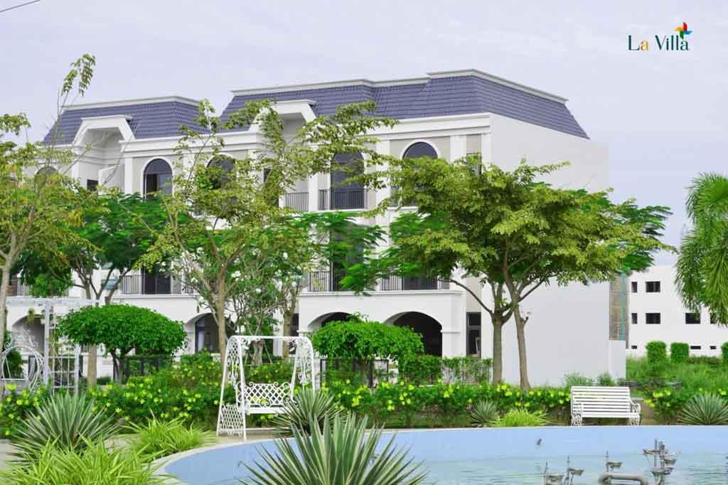 tien do du an la villa green city