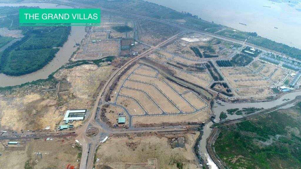 Tiến độ The Grand Villas Aqua City cập nhật năm 2021