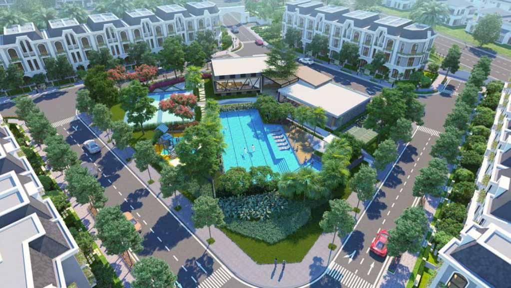 tien ich la villa green city