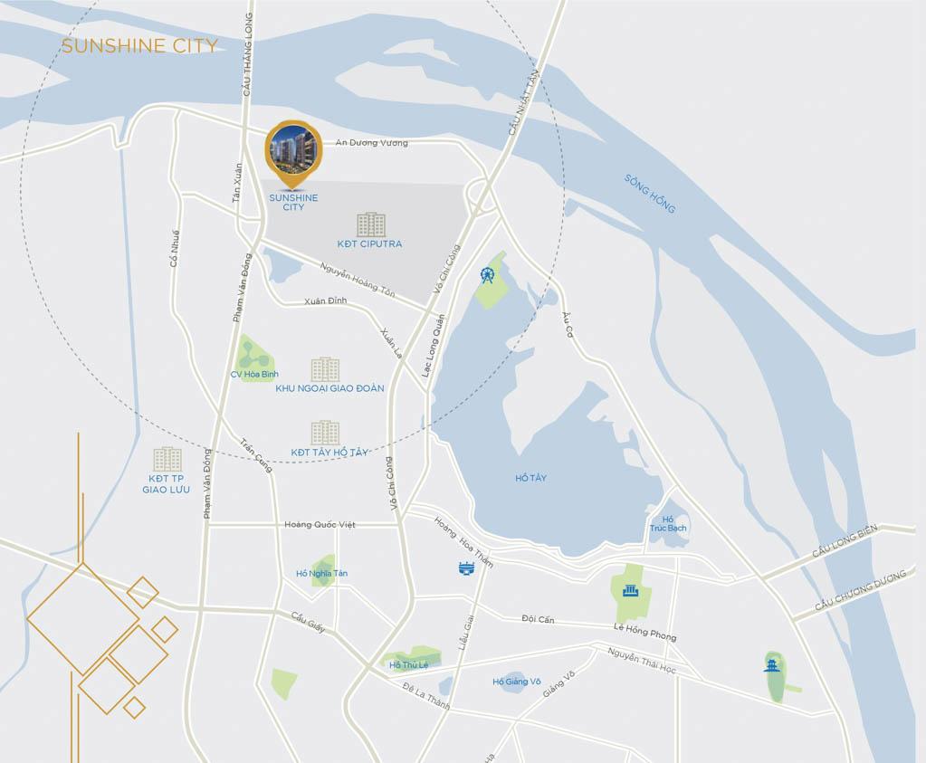 Vị trí Sunshine City Hà Nội ở đâu? Có gì tiềm năng?