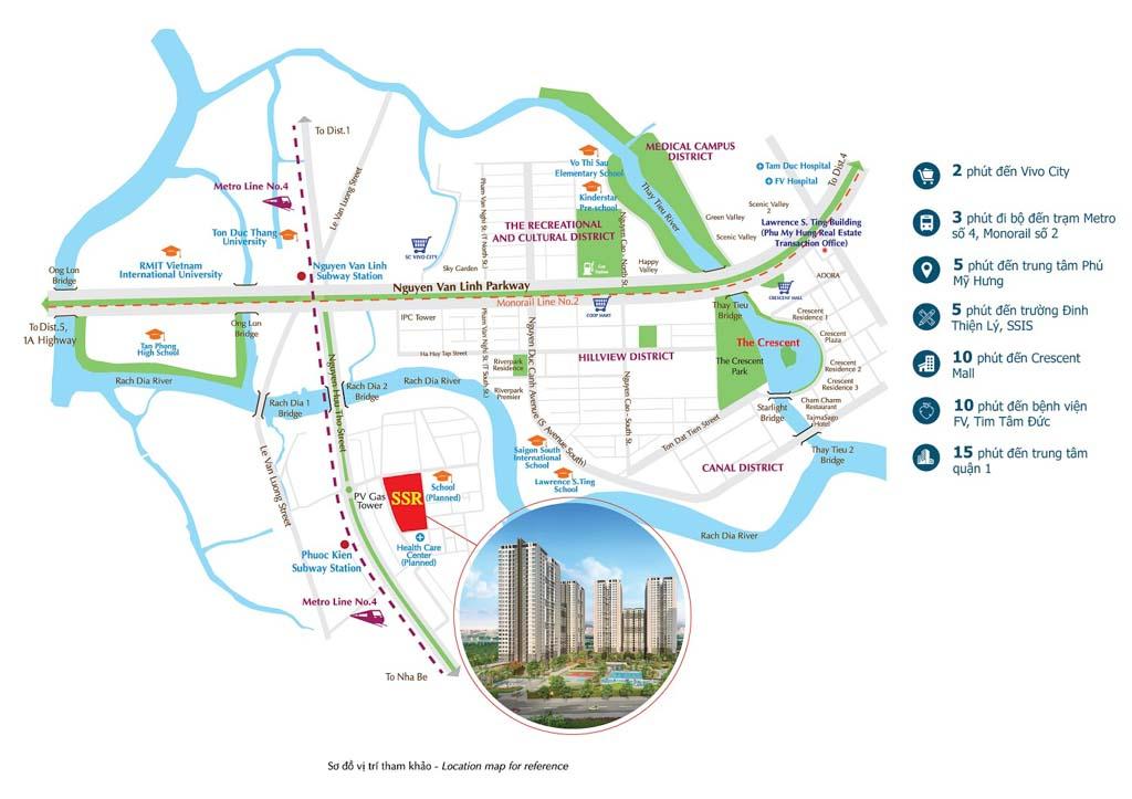 Vị trí Saigon South Residences ở đâu? Có gì tiềm năng?
