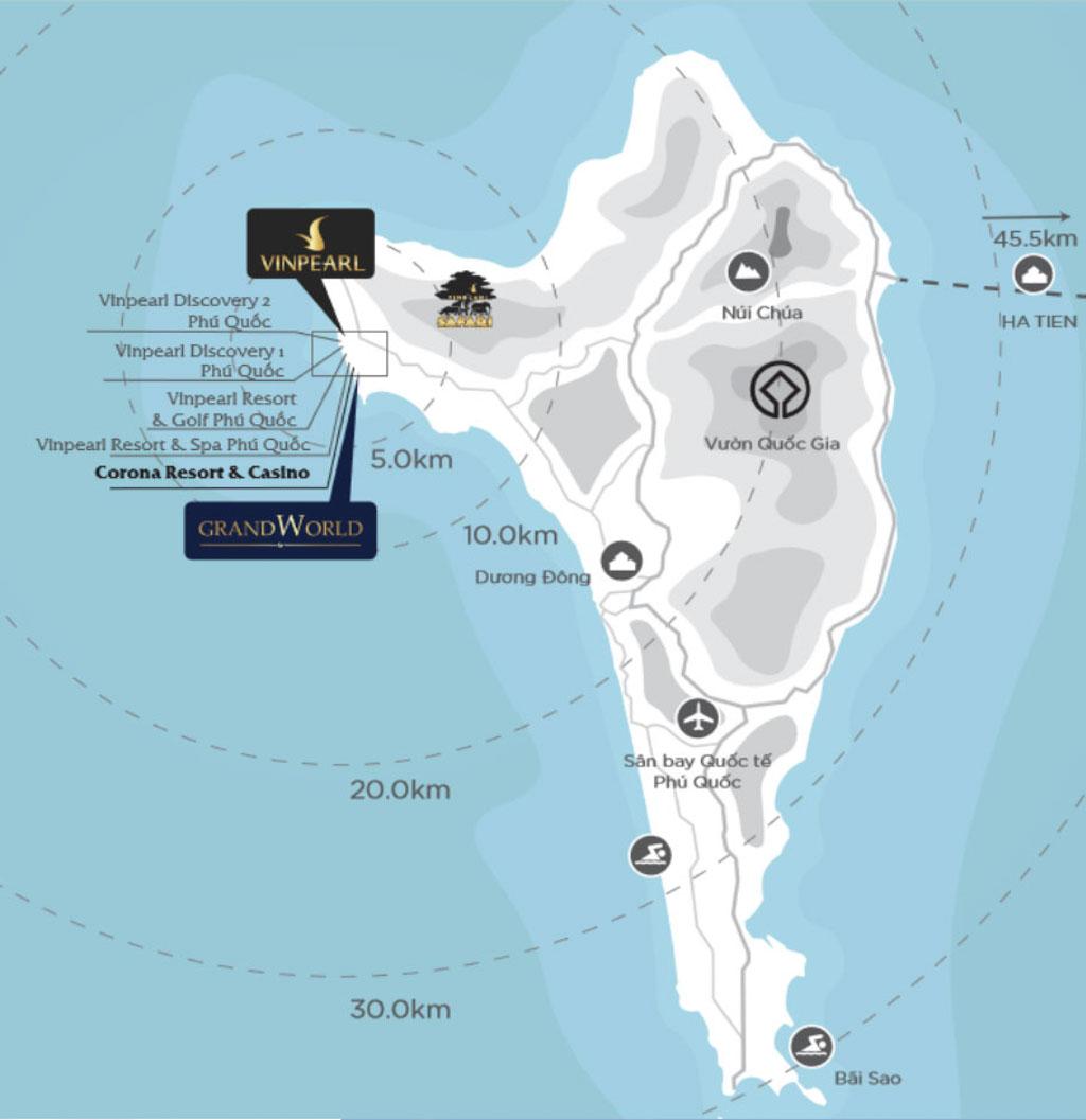 Vị trí Shop VinWonders Phú Quốc ở đâu? Tiềm năng tăng giá?