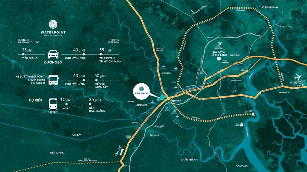 Vị trí Waterpoint Nam Long ở đâu? Tiềm năng tăng giá?