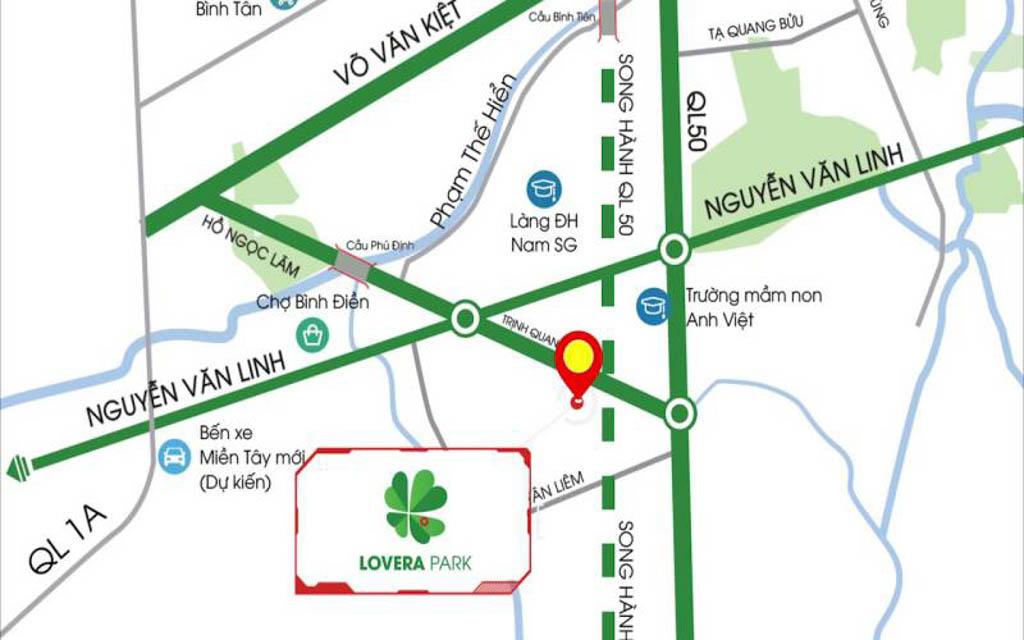 Vị trí Lovera Park ở đâu? Có gì tiềm năng?