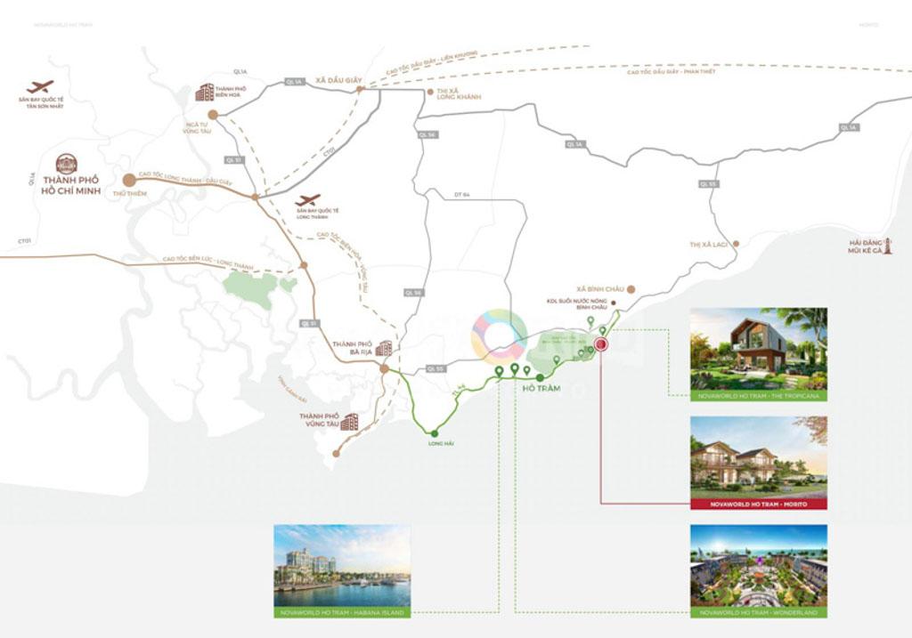 Vị trí Morito Hồ Tràm ở đâu? Có gì tiềm năng?