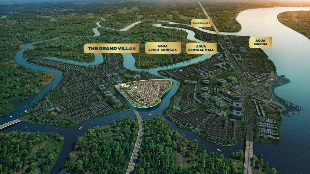 vi tri the grand villas aqua city