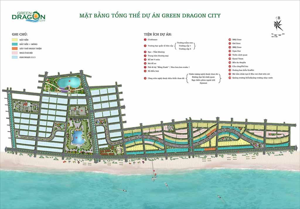 mat bang tong the green dragon city