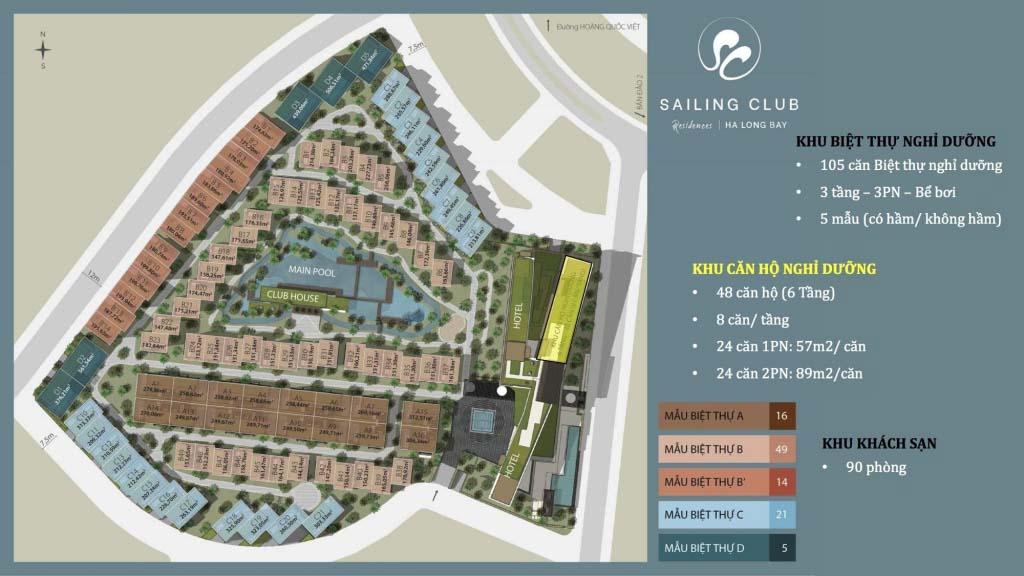 mat bang tong the sailing club residences